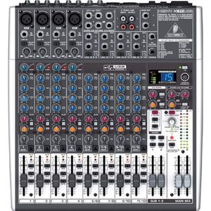 TABLE DE MIXAGE Table de mixage Xenyx X1622USB
