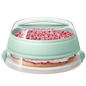 BOITES DE CONSERVATION Emsa - Boîte à gâteau rétractable pour transport M
