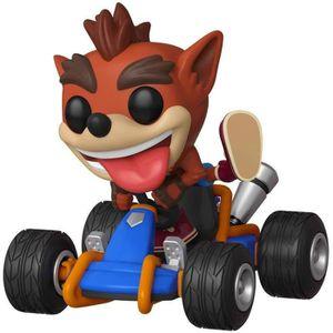 CRASH PAD MOTO Funko- Pop Rides: Crash Bandicoot Figurine de Coll
