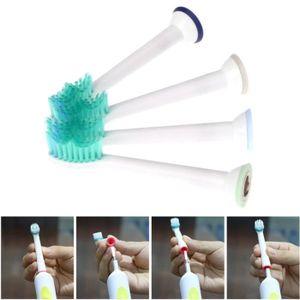 BROSSE A DENTS Hicollie® 4Pcs Tête Brosse À Dents Électrique Rech