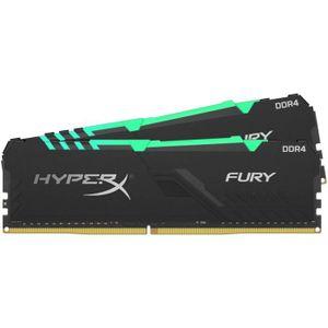 MÉMOIRE RAM HyperX Mémoire RAM FURY DDR4 RGB 16 Go - 2400MHz C