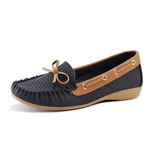 SLIP-ON Cravate classique conducteur Mocassins Chaussures