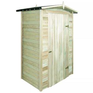 ABRI JARDIN - CHALET Abri de stockage pour jardin Pin imprégné 150 x 10
