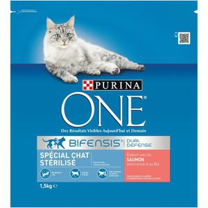 CROQUETTES Croquettes saumon chat 1.5 kg Purina One