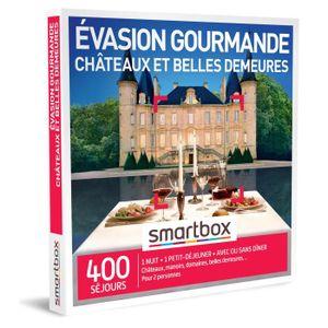 COFFRET SÉJOUR SMARTBOX - Coffret Cadeau - Évasion gourmande chât
