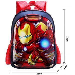 SAC À DOS Iron Man Sac à Dos Sacs à nouveau 2019, imperméabl