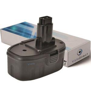 BATTERIE MACHINE OUTIL Batterie pour DW987KQ perceuse visseuse 3000mAh 18