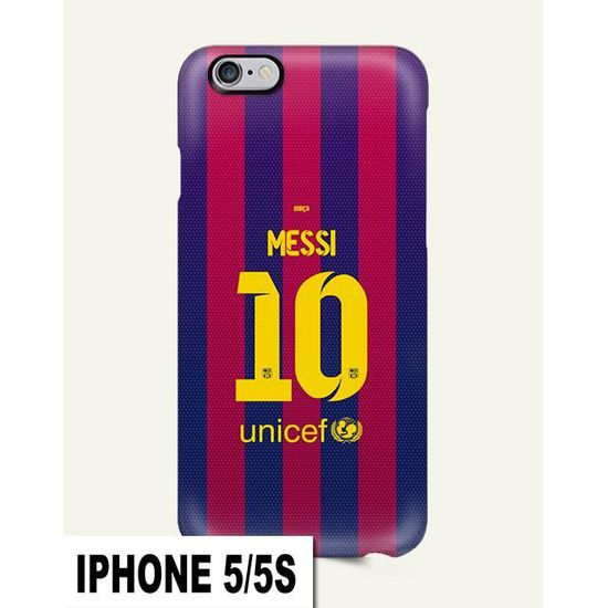 coque iphone 5 5s fcb messi barcelone