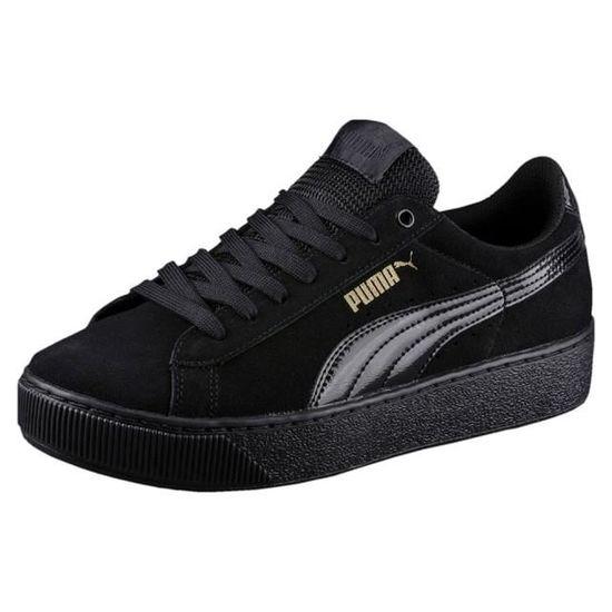 basket puma vikky platform noir
