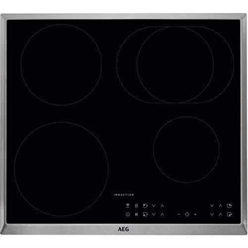 AEG IKB6431AXB Plaque de cuisson électrique-encastrable 6 éléments chauffants - 576 cm-fonction hobby-affichage électronique