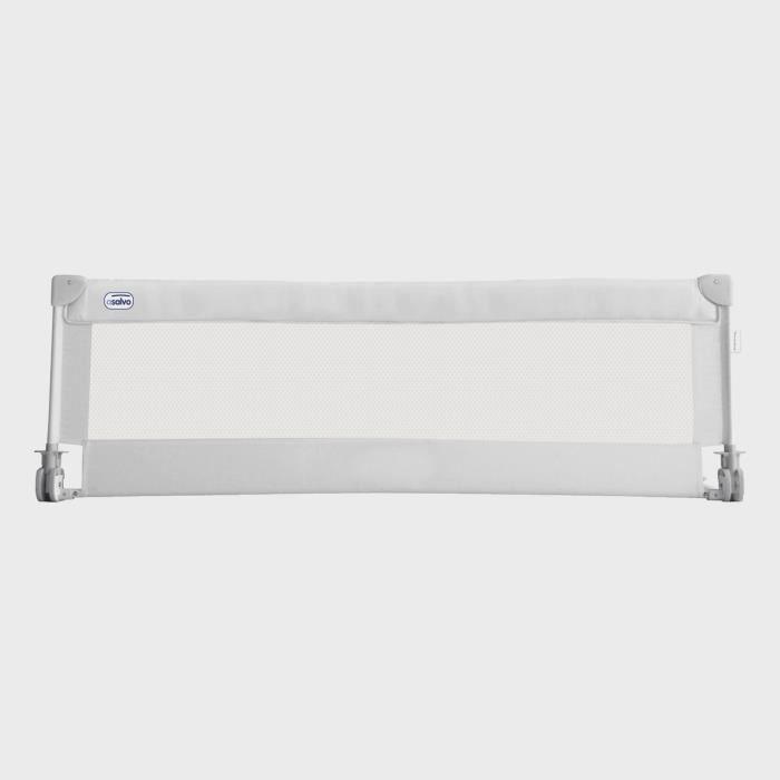 ASALVO Barrière de lit enfant - 150x43,5 - Blanc