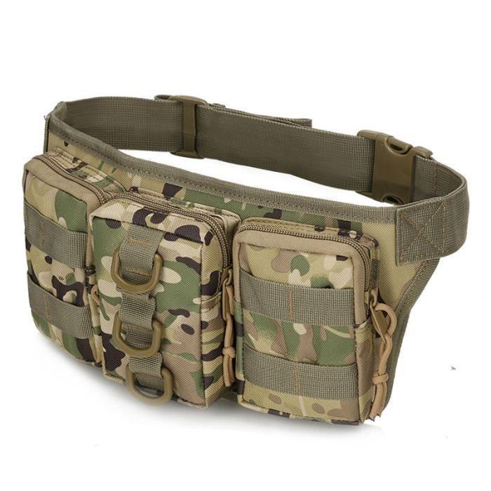 CP -Sac de taille tactique Molle pour hommes, sac de randonnée en plein air, sacs militaires de chasse, de sport, d'escalade, de
