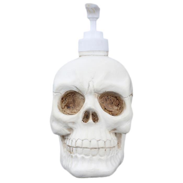 1PC bouteille de distributeur de crâne gothique durable créatif pratique pour la lotion de FONTAINE A EAU - BONBONNE EAU