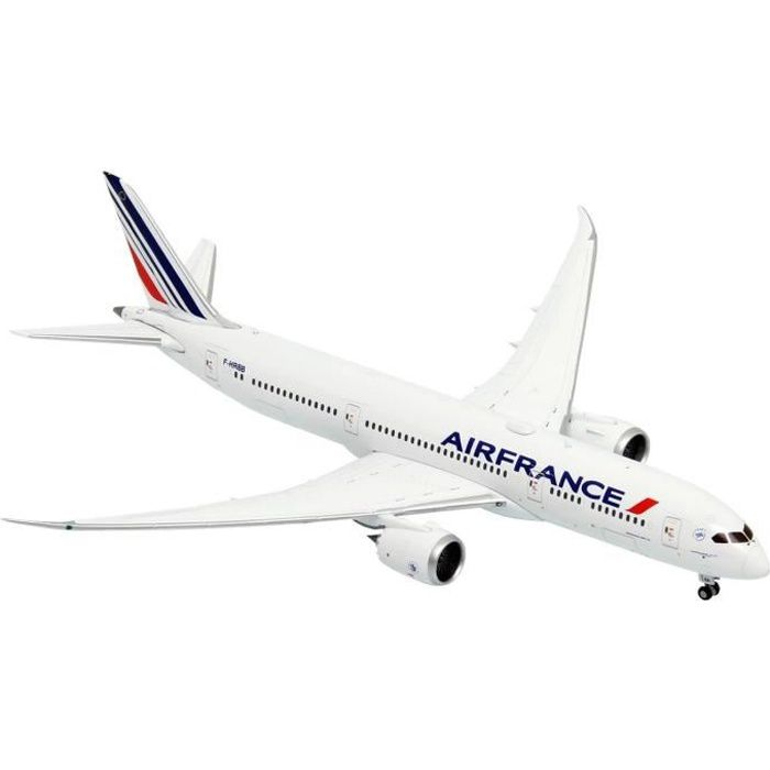 Maquette Avion AIR FRANCE BOEING 787-9 Dreamliner B787 au 1/400 En Métal