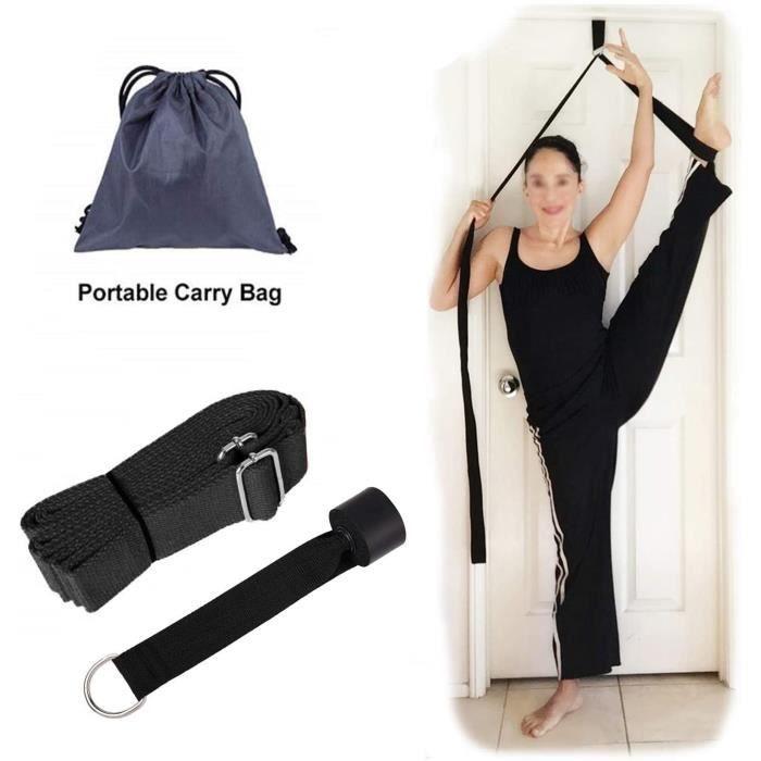 Sangle d'étirement de Ballet, Sangle de Yoga Ceinture Élastique Étirement, Écarteur de Jambe, Soyez Plus Flexible avec la Poignée