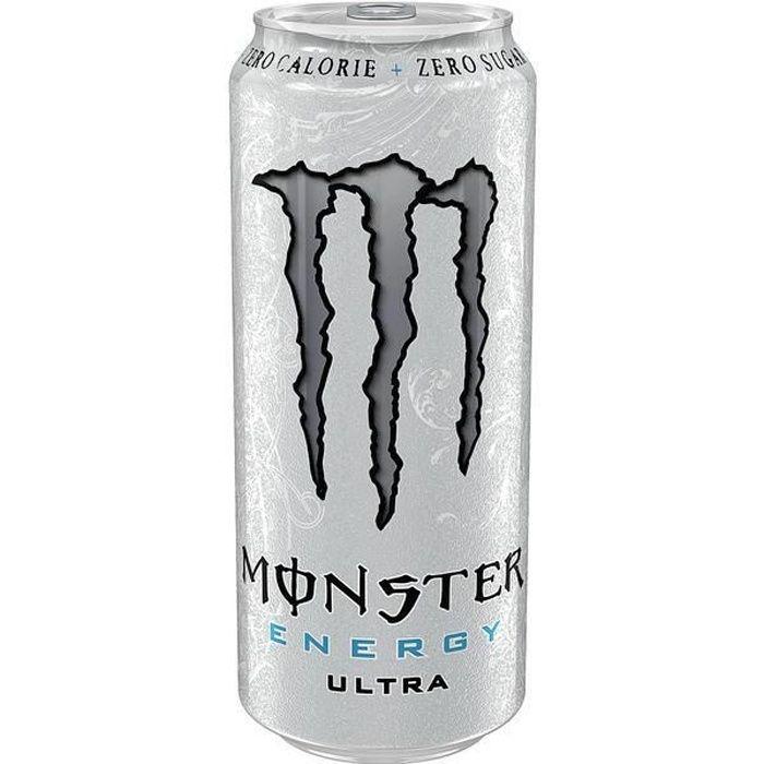 Monster Ultra White Zero Energy Drink 12 x 0,5l