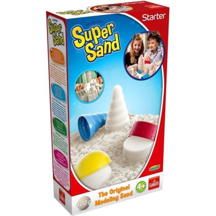 Goliath - Super Sand Starter - Loisir créatif - Sable à modeler