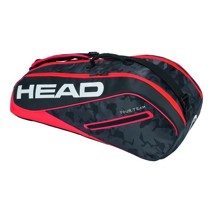 HEAD Tour Team 6R Combi Raquette de tennis Sac N-A noir-rouge