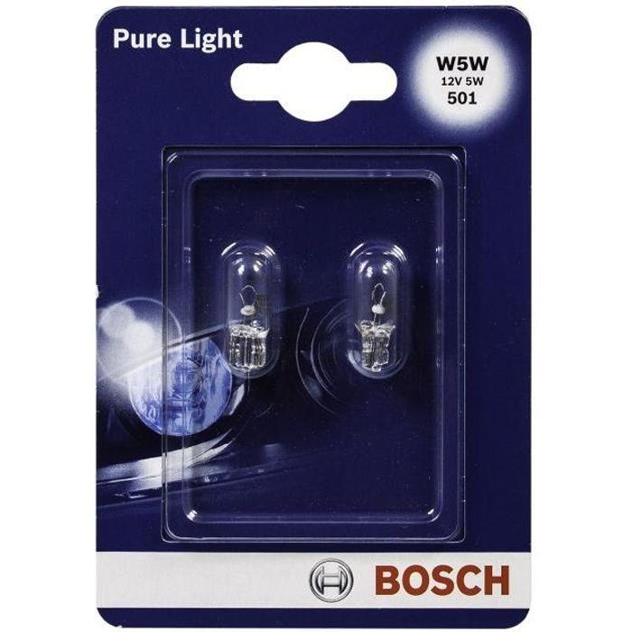 BOSCH Ampoule Pure Light 2 W5W 12V 5W