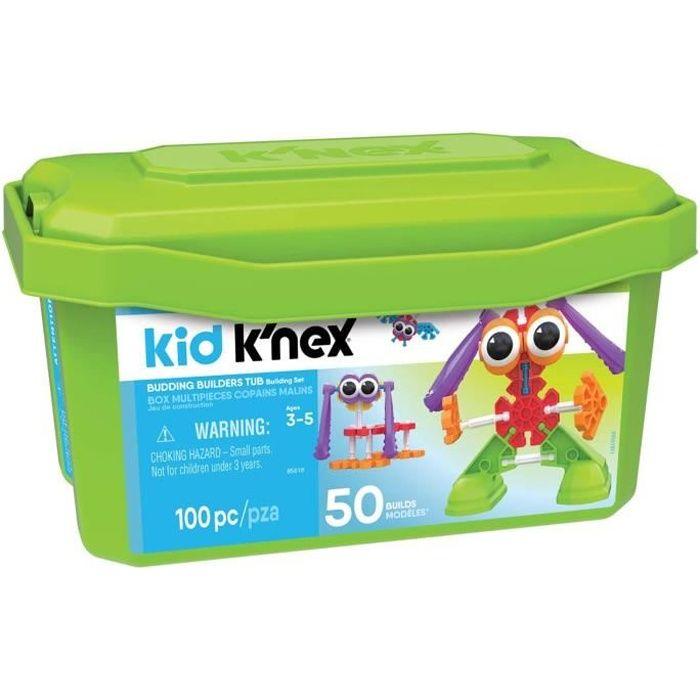 Jeu de construction Kid Knex Collect'Box : Copains malins aille Unique Coloris Unique