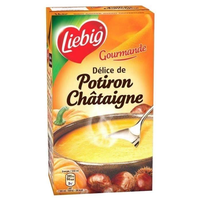 Liebig - Liebig Délice de Potiron Châtaigne (lot de 3)