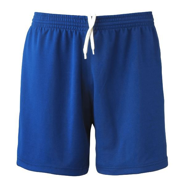 Short Football Polyester Bleu