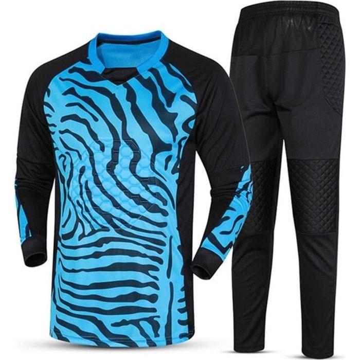 Maillot d'entraînement de football convient à des maillots de gardien de but Survetement Uniformes de gardien de but de football - b