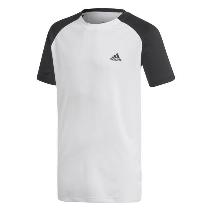ADIDAS Polo de Tennis B CLUB TEE Enfant - Blanc