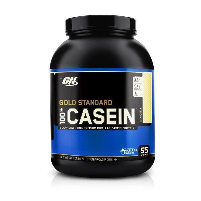 OPTIMUM NUTRITION Pot 100% Casein Vanille Crémeuse - 1,81 kg