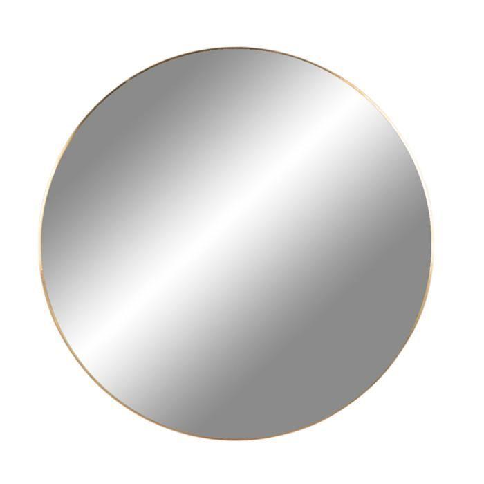 Miroir rond en verre - Ø 40 x H 40 cm