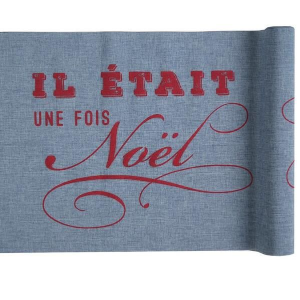 Chemin de table -il était une fois noël- (x1) REF/5617