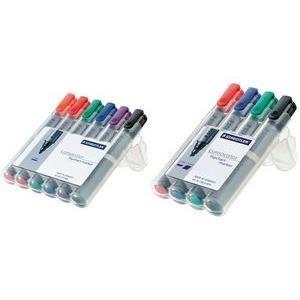STAEDTLER Lumocolor Flipchart marker 356B, étui…