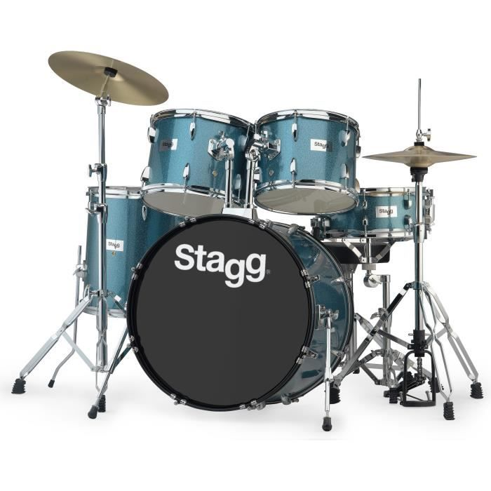 STAGG TIM322B SPBL Batterie Acoustique 22\