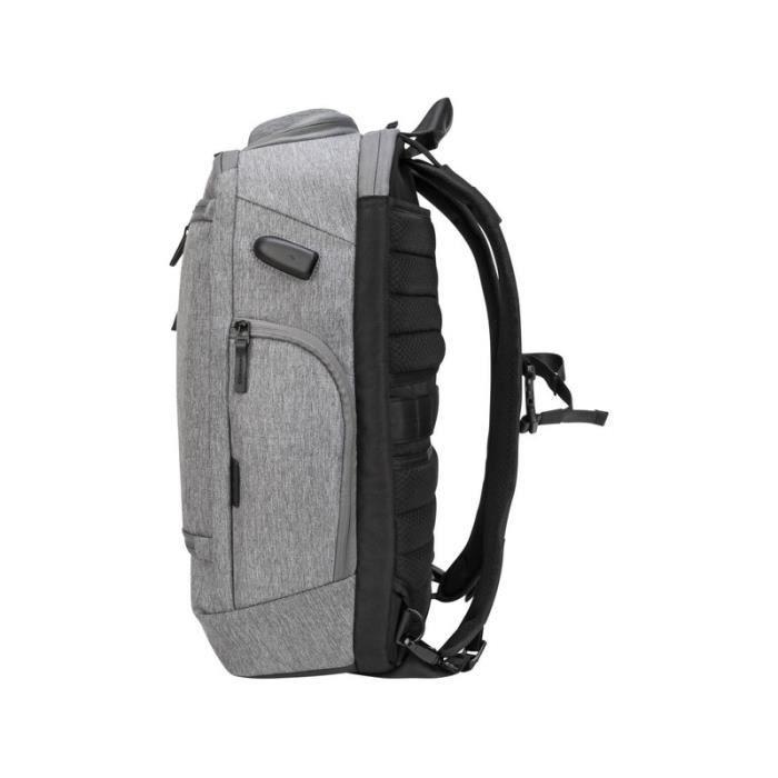 TARGUS Sacoche de transport CityLite Pro TSB939GL - Sac à dos Style - Pour ordinateur portable 40,6 cm (16-) - Gris