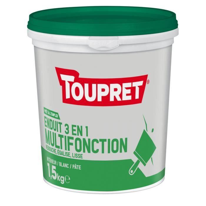 Enduit Multifonction 3en1 pâte 1.5kg - Enduits de lissage