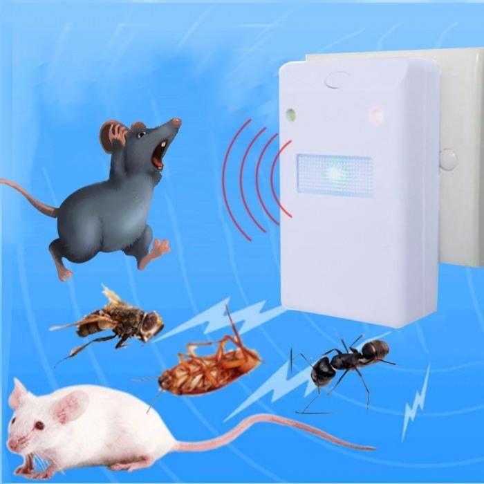 Black ultrasonique électronique sur l/'organisme nuisible cafard souris Bug insecte de moustique répulsif US