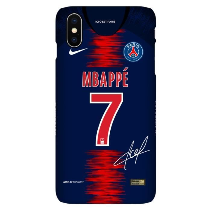 psg coque iphone x