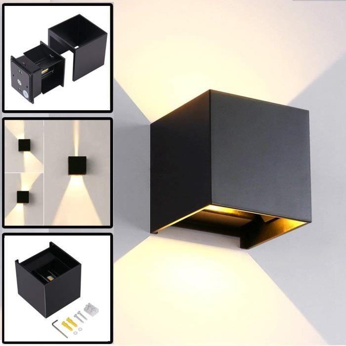 K-Bright 7W Appliques Murales LED,IP65 LED Moderne Lampe,Blanc Chaud