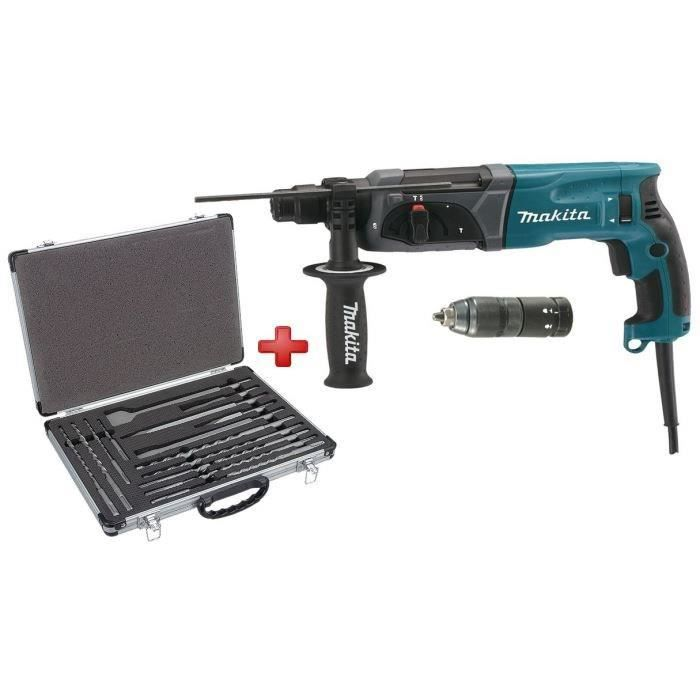 makita perforateur burineur sds 780w 17 pi ces achat. Black Bedroom Furniture Sets. Home Design Ideas