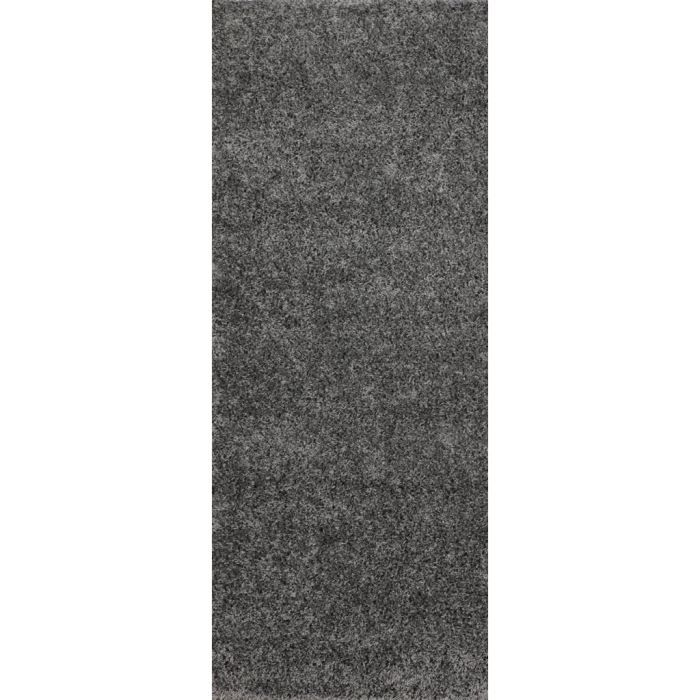 tapis de couloir shaggy gris 60x180 cm 40 mm achat vente tapis de couloir 100. Black Bedroom Furniture Sets. Home Design Ideas
