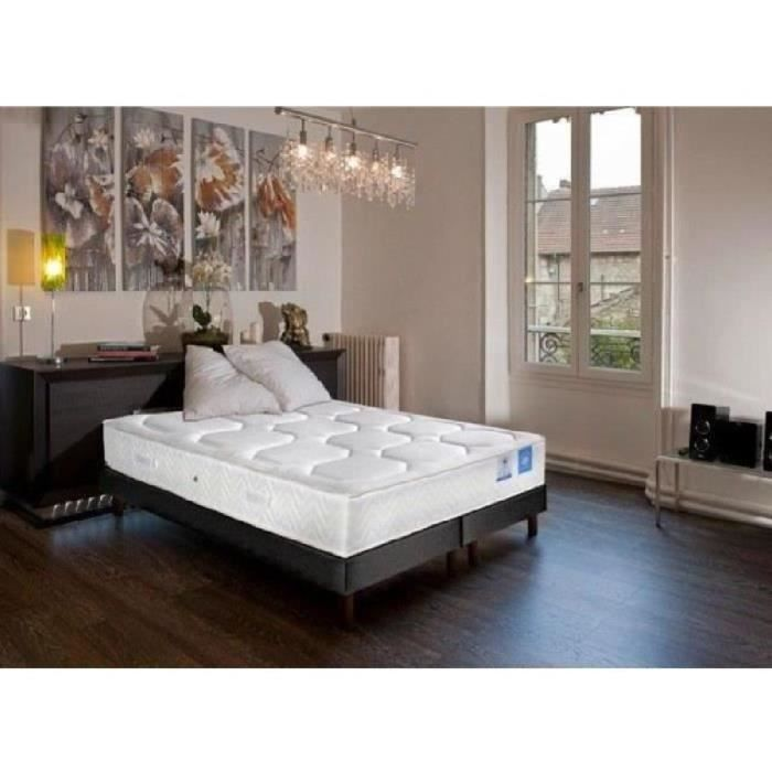 ensemble sommier matelas ressort 180x200. Black Bedroom Furniture Sets. Home Design Ideas