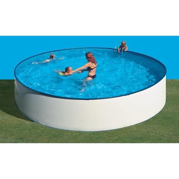 Piscine hors sol super eco dia filtration achat for Liner piscine diametre 3 50