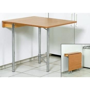 Table cuisine rabattable murale table cuisine rabattable - Table rabattable murale cuisine ...