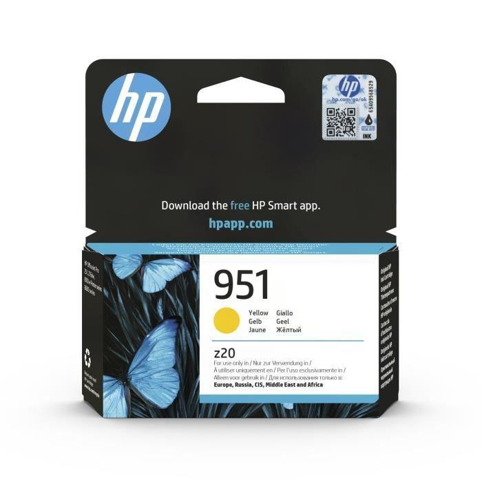 CARTOUCHE IMPRIMANTE HP 951 cartouche d'encre jaune authentique pour HP
