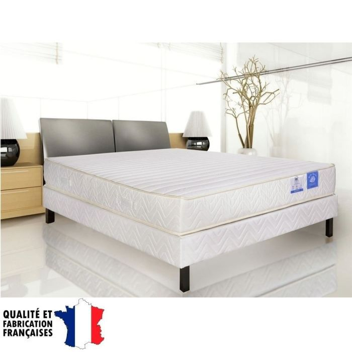 matelas belle literie 180x200cm mousse m moire moncornerdeco. Black Bedroom Furniture Sets. Home Design Ideas