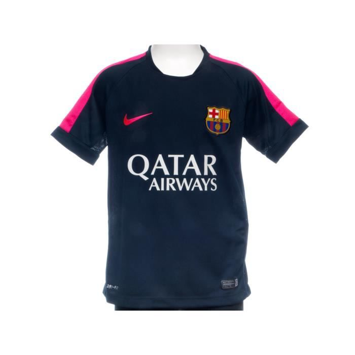 maillot de football barca maillot training jr prix pas. Black Bedroom Furniture Sets. Home Design Ideas