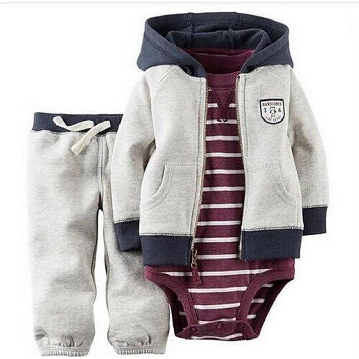 Ensemble de vêtements Carters de bébé garçon fille vêtements bébé Set...