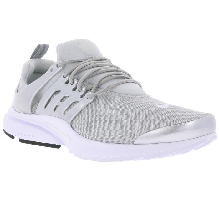 NIKE Air Presto Premium Hommes Sneaker argent 8481
