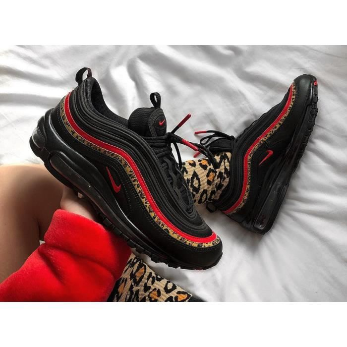 air max 97 rouge leopard