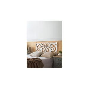 lit fer forge blanc achat vente lit fer forge blanc pas cher cdiscount. Black Bedroom Furniture Sets. Home Design Ideas